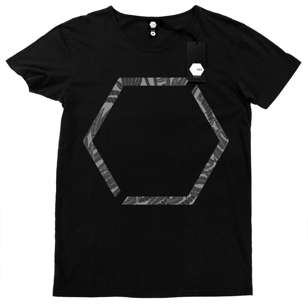 T SHIRT - TRV HEXAGON Tee (Black)