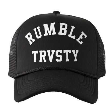 Trucker - RUMBLE Trucker (Black/White)