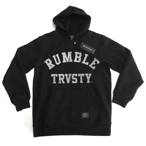 RUMBLE Hood (Black) Travisty Men's Clothing