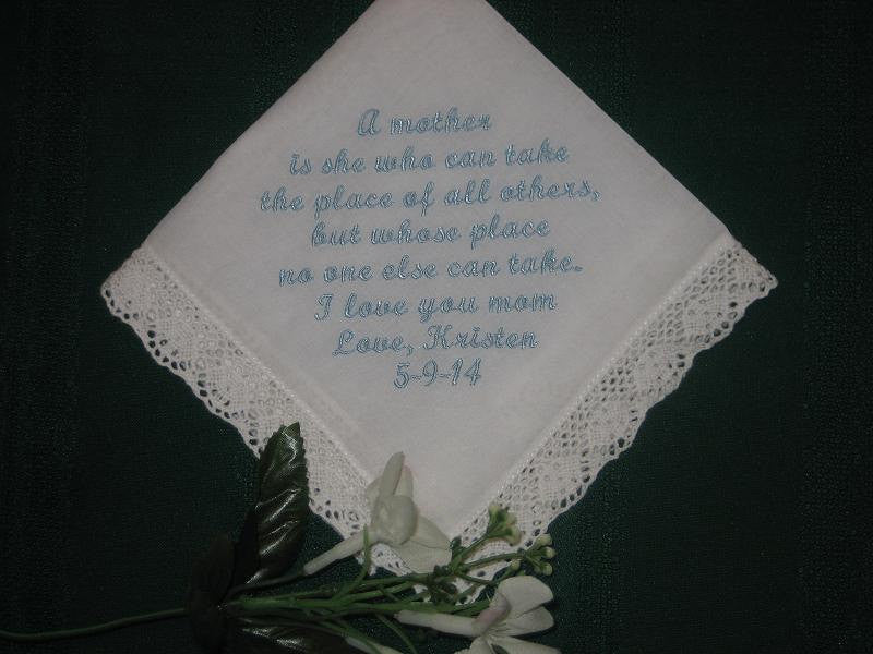 Mothers Love Handkerchief 162S free gift box and FREE shipping in the US