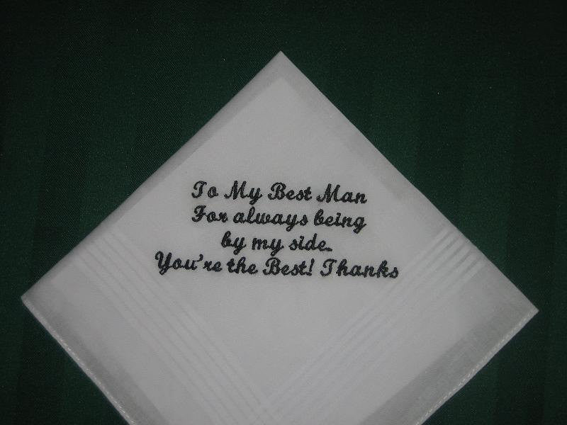 A handkerchief for your Best Man.184S with FREE gift box and FREE shipping in the US.