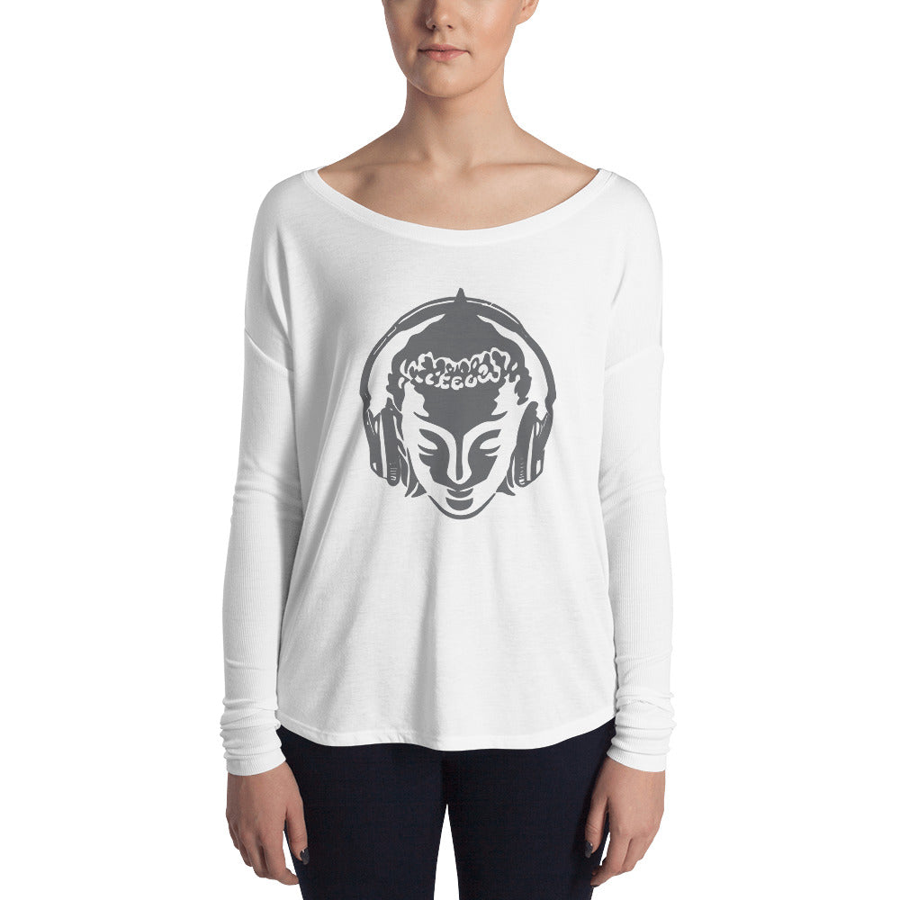 Women's Long Sleeve Chillin Buddha T-Shirt