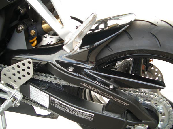 Honda CBR1000 RR 2004-2007  Rear Wheel Gloss Black Hugger by Pyramid Plastics