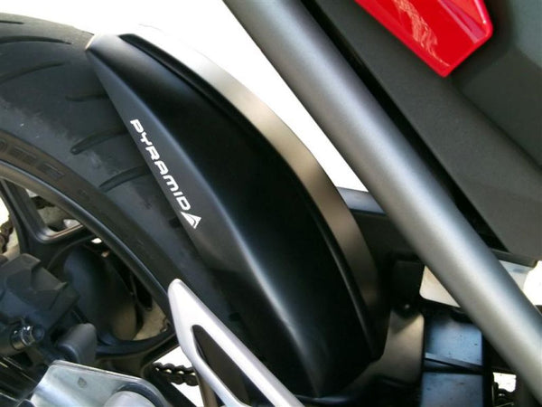 Honda NC700S/X Integra  NC750S/X  2012> Rear Wheel Gloss Black Hugger by Pyramid