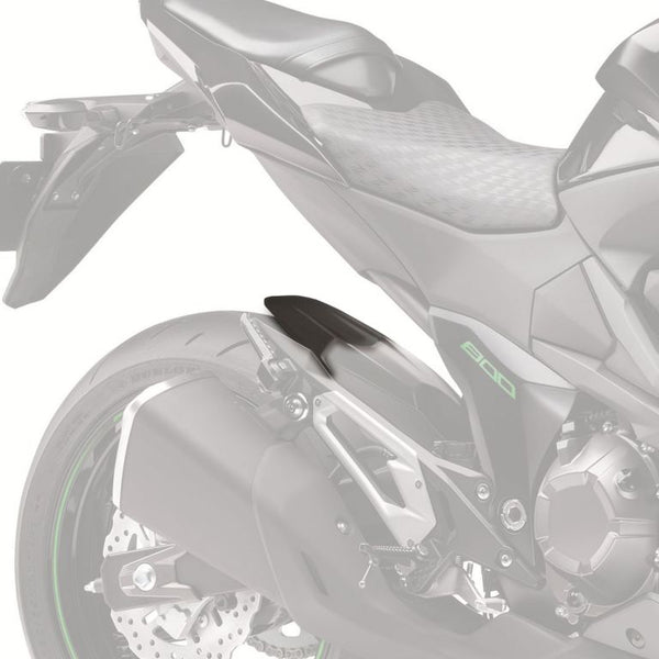 Kawasaki Z800  2012>  ABS Hugger Fender Extension .