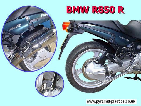 BMW R850 R & BMW R1100 R all years  Gloss Black Hugger by Pyramid Plastics