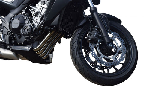 Honda CB650F 2014 > Gloss Black Finish GRP Belly Pan by Pyramid