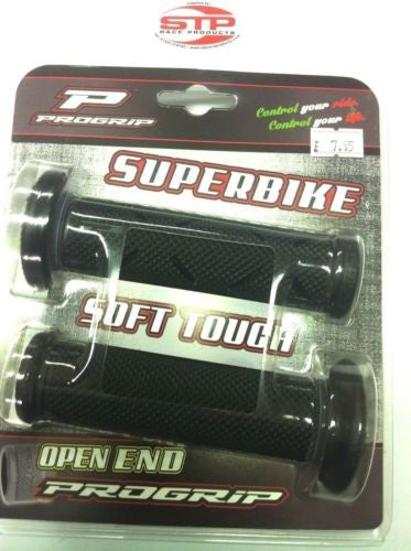 Progrip Superbike 716 Black Single Density Grips 122mm Kawasaki