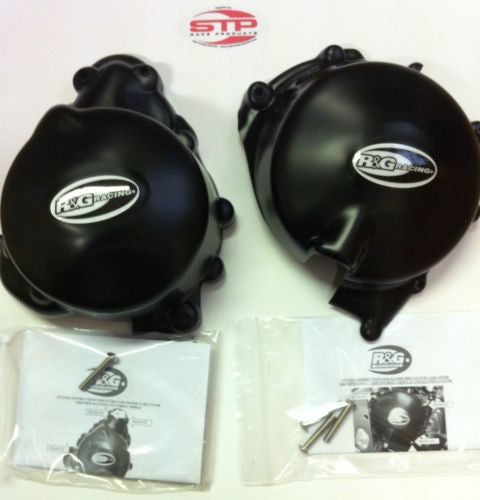 NEW Triumph Daytona 675  2006-2011 R&G Race 2 piece Engine Case Cover Kit