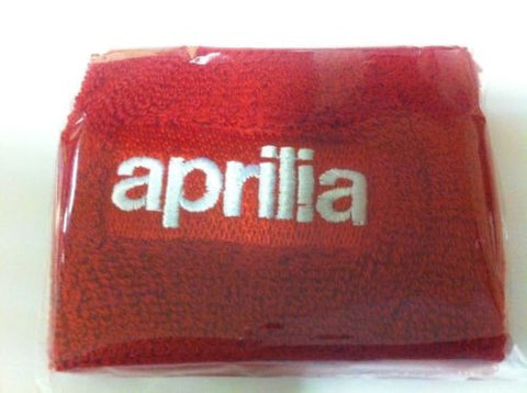 Aprilia Red Front Brake Master Cylinder Reservoir Cover Sock Shroud
