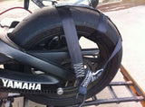 Aprilia, Motorbike,Transport,Tie-Down Wheel Strap,Light,Strong Polyester webbing