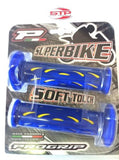 Progrip Superbike 724 Yellow-Blue Dual Compound Grips 122mm