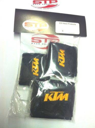 KTM RC8/R Motorcycle 2 x Brake & 1 x Clutch Reservoir Shrouds Socks Cover