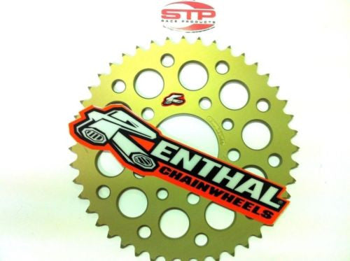BMW HP-4 Renthal Ultralight Anodised Rear Sprocket 43 tooth fits 520 Chain Conv