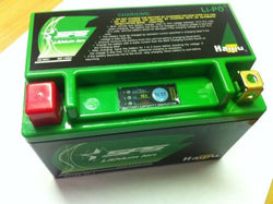 Kawasaki ZXR400 L YTX9-BS Replacement Lightweight Lithium Ion Battery