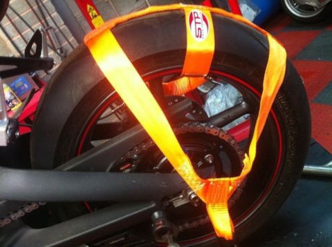 ORANGE Trackbike Transport Tie Down Wheel Strap Polyester webbing Strap BSB