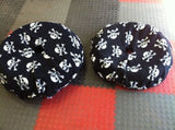 2Large (190-200 section) Pirate Motorcycle Tyre Blankets Fleece Covers Tyre Warmers