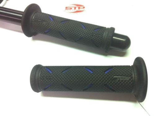 Progrip Superbike 717 Blue Dual Compound Grips 122mm Long  PG717B