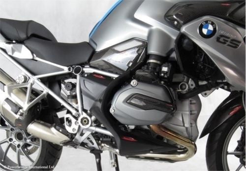BMW R1200GS  13-2018 & R1250GS 19-20   Fairing Lowers Matt Black Finish by Powerbronze RRP £210