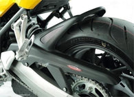 Honda CB650F/CBR650F 2014 Rear Hugger by Powerbronze Matt Black/Silver Mesh