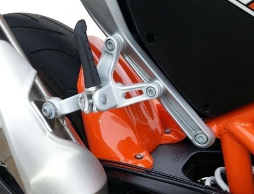 KTM 690 Duke 2012-2013 Gloss Orange Rear Hugger by Pyramid Plastics