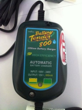 Lithium Ion Automatic battery tender charger 12V 800mA