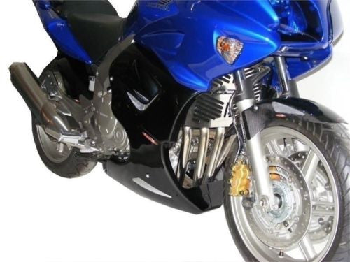 Honda CBF1000  06-2009/CBF1000 2010(UK)  Fairing Lowers Black with Silver Mesh RRP £210