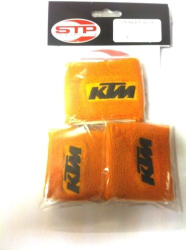 KTM RC8/R ,Motorcycle 2 x Brake & 1 x Clutch  Reservoir Shrouds, Socks, Cover,