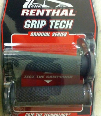 Renthal G149 Black Full Diamond Firm Compound Sportbike Grip by Renthal