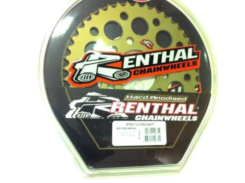 BMW HP-4 Renthal Ultralight Anodised Rear Sprocket 42 tooth fits 520 Chain Conv