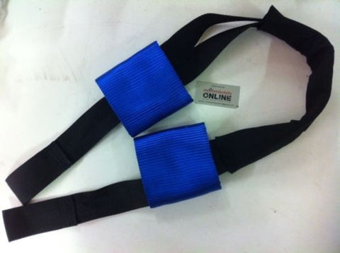 Suzuki  Transport,Tie-Down Handlebar Straps. Made to fit over lever guards
