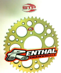 Renthal Ultralight Anodised Rear Sprocket 38 tooth fits 520 Chain Kawasaki ZX10R