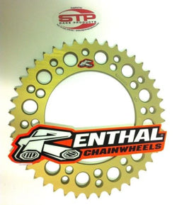Renthal Ultralight Anodised Rear Sprocket 44 tooth fits 520 Chain BMW S1000RR