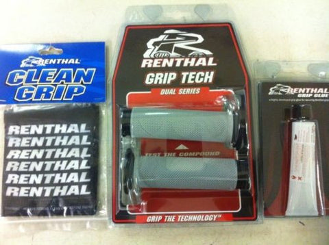 Renthal Thin Road Race Dual Compound Grips,Glue & Covers (29mm dia) G174/G182