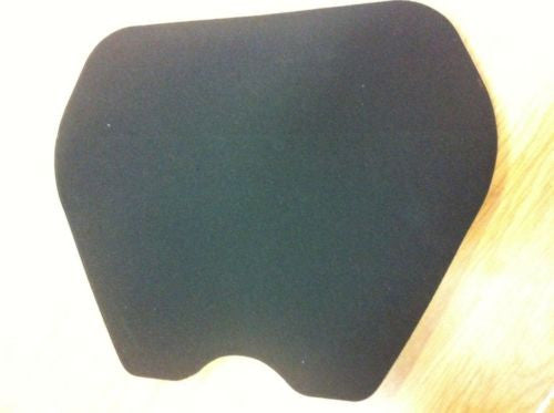 Pre-shaped 12mm Seat Foam Self-Adhesive Road Race Trackday
