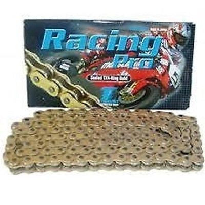 NEW TSUBAKI 520 Racing Pro All Gold TX4 Ring Sealed Special Race Chain 120 Lnk