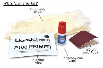 Pyramid Plastics Polypropylene Bonding Kit (glue) for fixing mudguard extenders