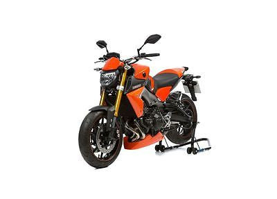 Yamaha MT09 & FZ09  2013-2016  Short Fly Screen Orange Finish  by Pyramid