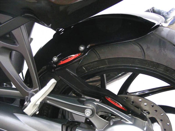 BMW K1300R/S  09-2016 Rear Hugger by Powerbronze  Carbon Look.