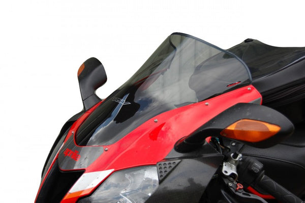 Aprilia RSV1000R & Factory 04-08 Airflow Dark Tint DOUBLE BUBBLE SCREEN Powerbronze