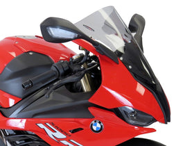 BMW S1000RR 19-2020  Airflow Light Tint EXTRA HIGH BUBBLE SCREEN by Powerbronze