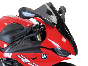 BMW S1000RR 19-2020  Airflow Dark Tint EXTRA HIGH BUBBLE SCREEN by Powerbronze
