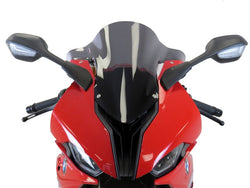 BMW S1000RR 19-2020  Airflow Dark Tint DOUBLE BUBBLE SCREEN by Powerbronze