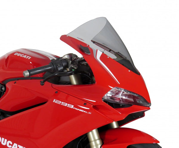Ducati 959 Panigale 16-2019  Airflow  Light Tint DOUBLE BUBBLE SCREEN by Powerbronze