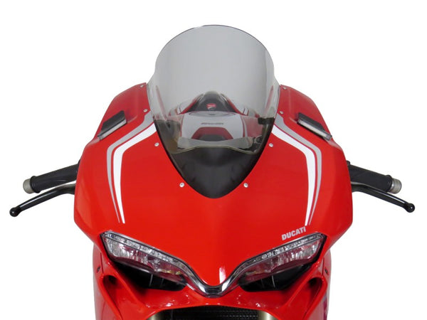Ducati 1299 Panigale 15-2017  Airflow  Light Tint DOUBLE BUBBLE SCREEN by Powerbronze