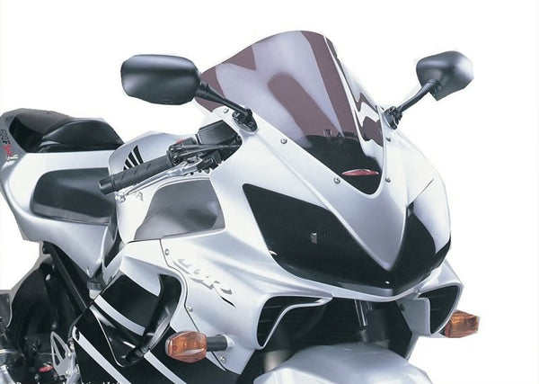 Honda CBR600F  01-2010  Airflow Dark Tint DOUBLE BUBBLE SCREEN by Powerbronze