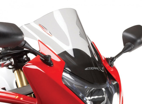HondaCBR600F  11-2013 Airflow Dark Tint DOUBLE BUBBLE SCREEN by Powerbronze