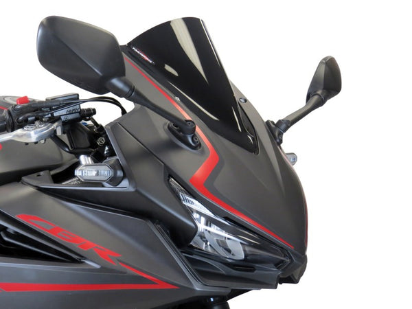Honda CBR500R  19-2020 Airflow Light Tint DOUBLE BUBBLE SCREEN by Powerbronze