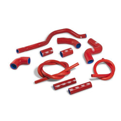 Aprilia RSV4/RF/RR  09-17 SamcoSport Red Silicone Hose Kit  & Stainless Hose Clips