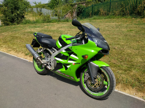 2001 Kawasaki Zx6 R J2 Sorry Now Sold Stp Racing Products